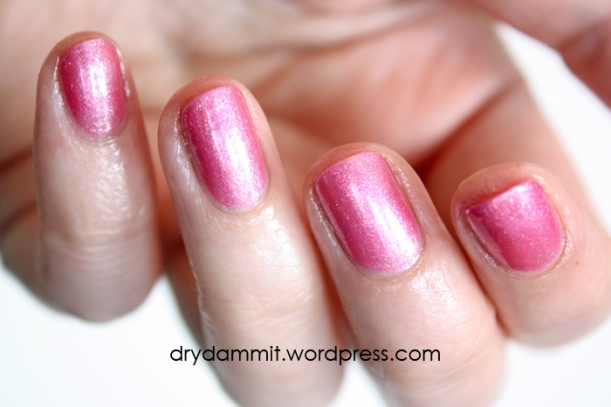 Celestial Cosmetics Live In The Moment from the Memories Collection swatched by Dry, Dammit!