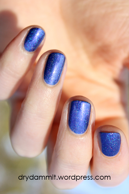 Celestial Cosmetics Midnight Memories from the Memories Collection swatched by Dry, Dammit!