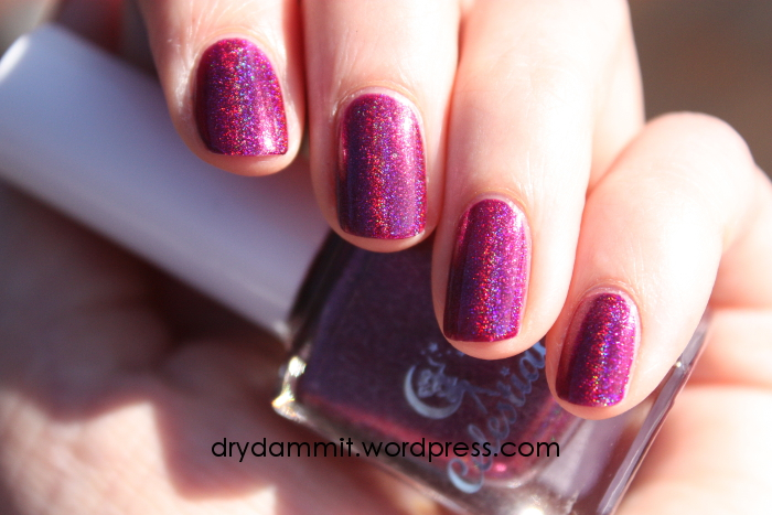 Celestial Cosmetics Hokulani swatched by Dry, Dammit!