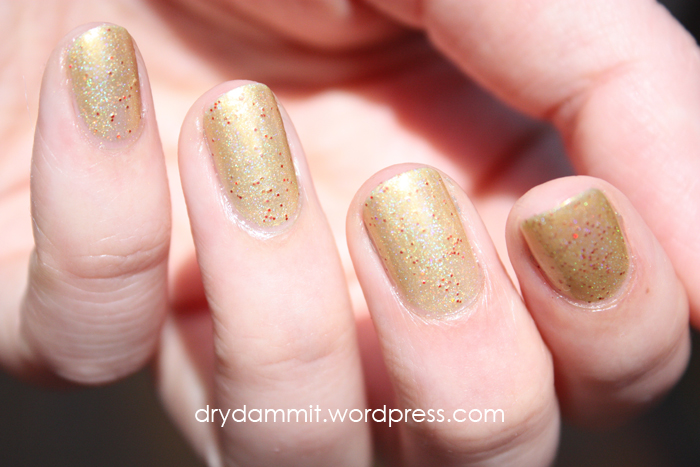 Celestial Cosmetics Bollywood Collection Dilwara swatched by Dry, Dammit!