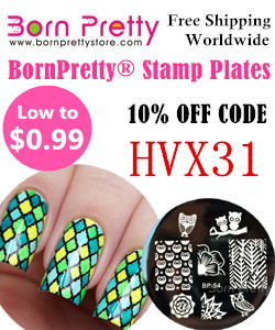Save 10% off your next purchase at Born Pretty with this code!