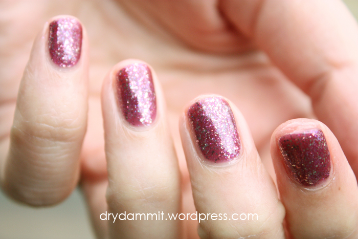 Celestial Cosmetics Christmas in the Outback Collection Party in the Never Never swatched by Dry, Dammit!