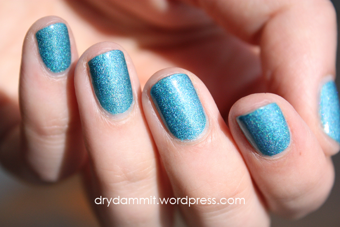 Celestial Cosmetics December LE 2015 swatched by Dry, Dammit!