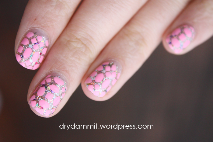 Born Pretty Store nail art stencils swatched by Dry, Dammit!