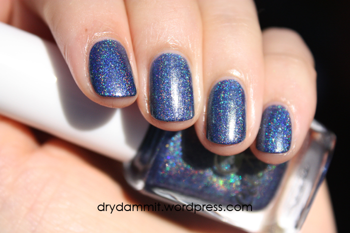 Celestial Cosmetics Tropical Holiday Collection Break of Day swatched by Dry, Dammit!