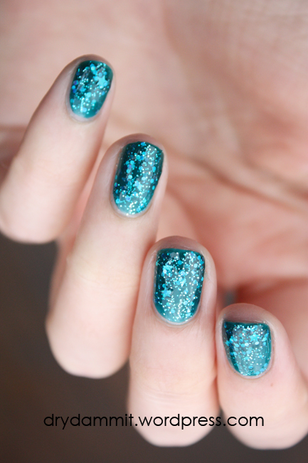 Celestial Cosmetics Tropical Holiday Collection The Med swatched by Dry, Dammit!