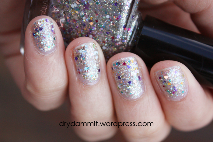 Femme Fatale Cosmetics Ornamental swatched by Dry, Dammit!