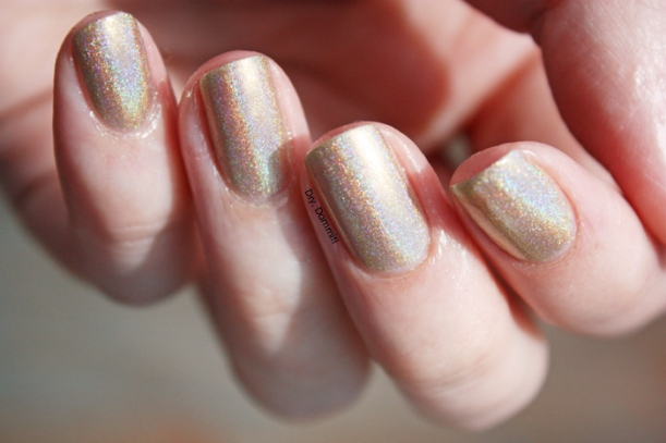 Celestial Cosmetics Unicorns and Rainbows Collection Cakes and Rainbows swatched by Dry, Dammit!
