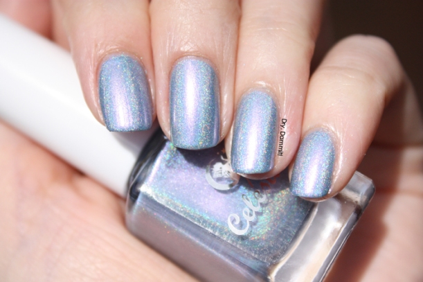 Celestial Cosmetics Unicorns and Rainbows Collection Farting Rainbows swatched by Dry, Dammit!