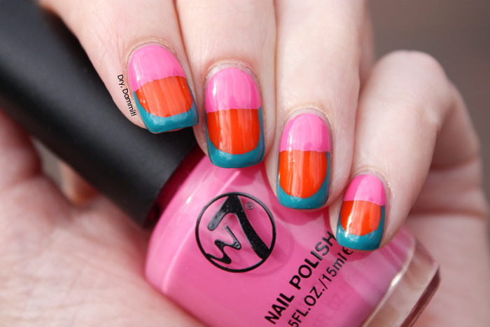 Edgy nail art inspired by SoNailicious | Dry, Dammit!