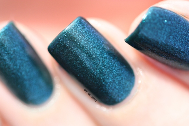 Celestial Cosmetics Kastamiro Damior swatched by Dry, Dammit!