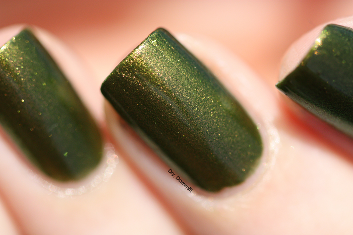 Celestial Cosmetics Lilagon swatched by Dry, Dammit!