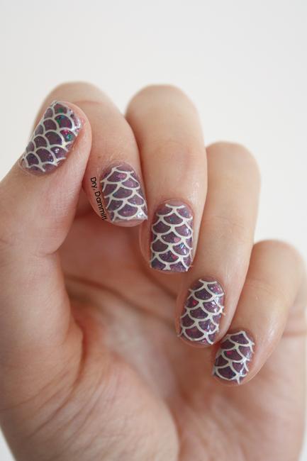 Born Pretty Store sticker stencils nail art by Dry, Dammit!