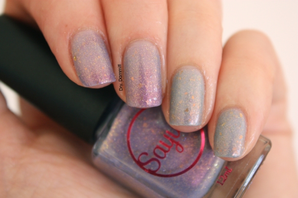 Sayuri Alfheim Collection Third Space Of Heaven swatched by Dry, Dammit!