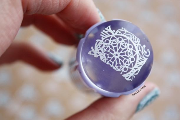 Born Pretty Store clear jelly stamper by Dry, Dammit!