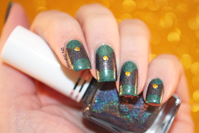 Celestial Cosmetics We Breathe Fire Collection Firnen nail art by Dry, Dammit!