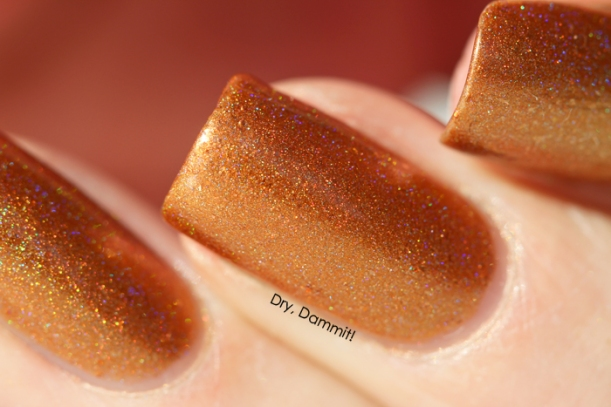 Celestial Cosmetics We Breathe Fire Collection Glaedr swatched by Dry, Dammit!