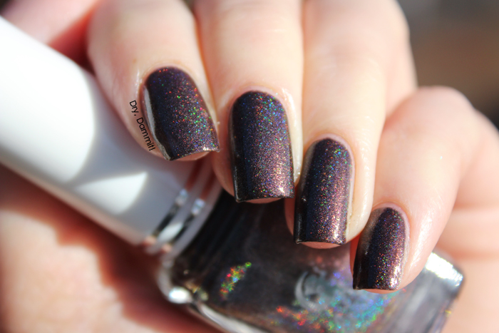Celestial Cosmetics We Breathe Fire Collection Thorn swatched by Dry, Dammit!