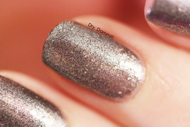 Celestial Cosmetics Love Never Dies Collection God's Madmen swatched by Dry, Dammit!