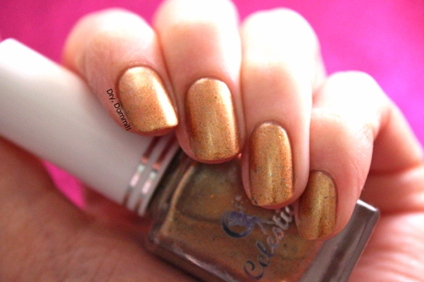 Celestial Cosmetics Love Never Dies Collection The Brides swatched by Dry, Dammit!