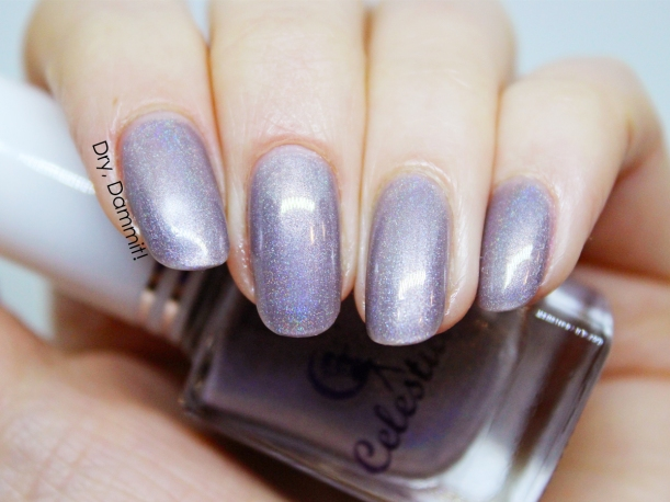 Celestial Cosmetics The Curse of Miss Ives Collection Demimonde swatched by Dry, Dammit!