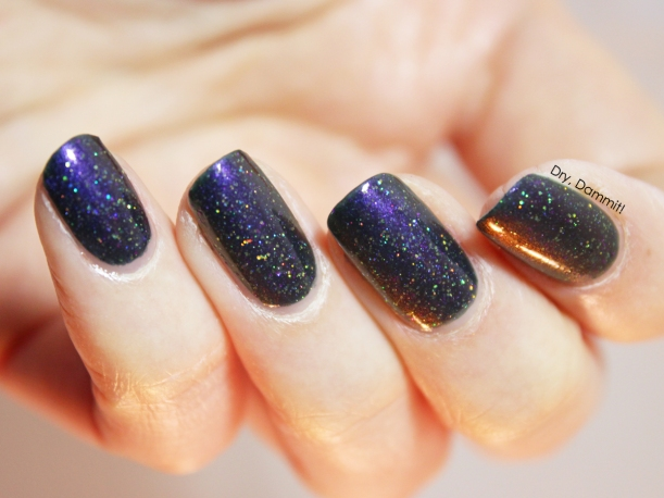 Femme Fatale Cosmetics D-Qwon's Dance Grooves swatched by Dry, Dammit!