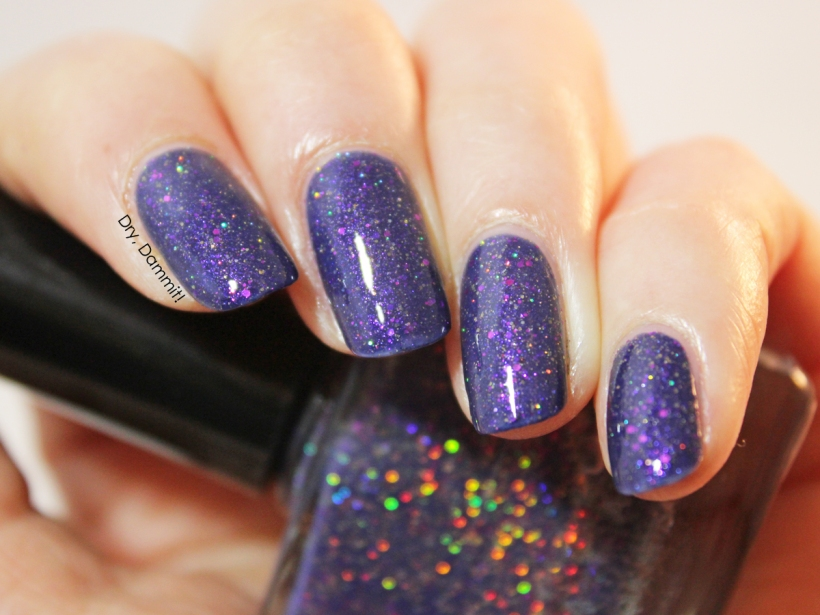 Femme Fatale Cosmetics The Nessie Alliance swatched by Dry, Dammit!