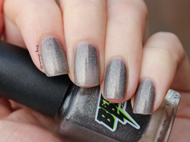 Bettie Pain Polish Bipolar Pony swatched by Dry, Dammit!