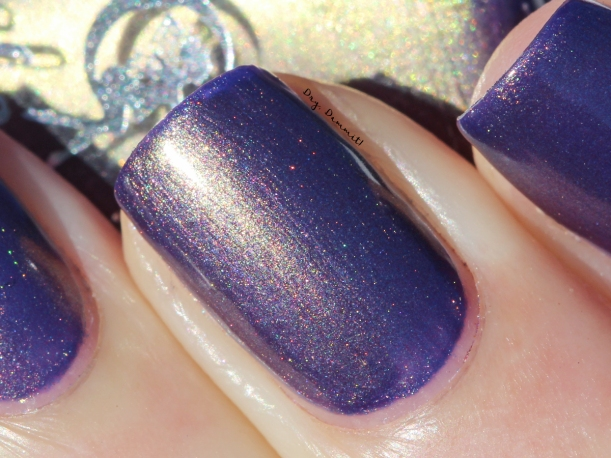 Celestial Cosmetics Primal Fear swatched by Dry, Dammit!