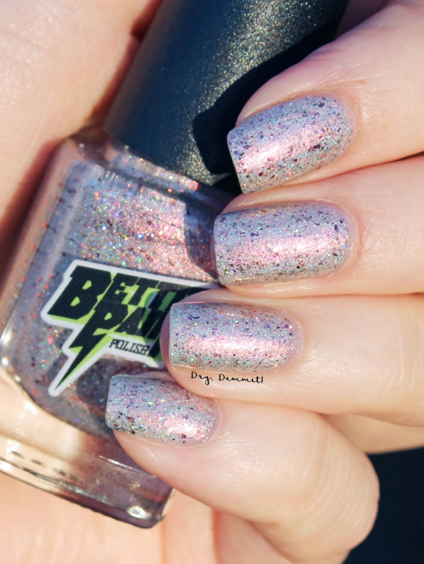 Bettie Pain Polish Breathe, Just Breathe swatched by Dry, Dammit!