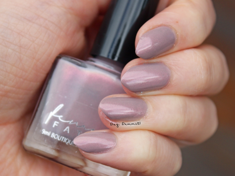 Femme Fatale Total Recall Collection 2084 swatched by Dry, Dammit!