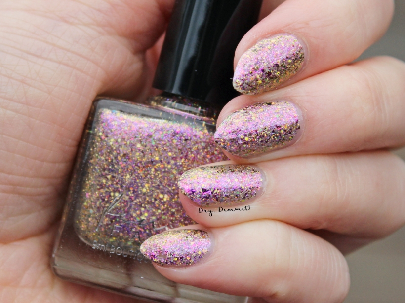 Femme Fatale Total Recall Collection The Ego Trip swatched by Dry, Dammit!
