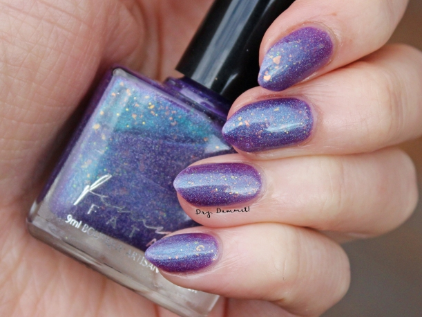Femme Fatale Total Recall Collection Turbinium swatched by Dry, Dammit!