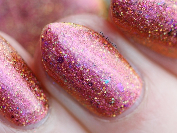 Femme Fatale Total Recall Collection Welcome to Mars swatched by Dry, Dammit!