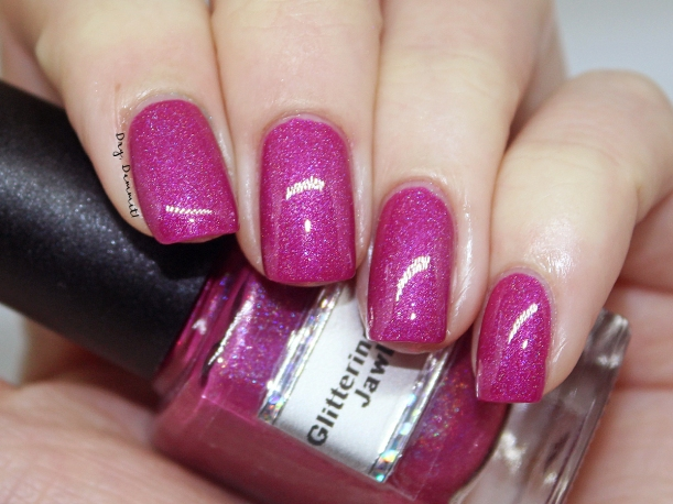 Glittering Elements Jawbreaker swatched by Dry, Dammit!