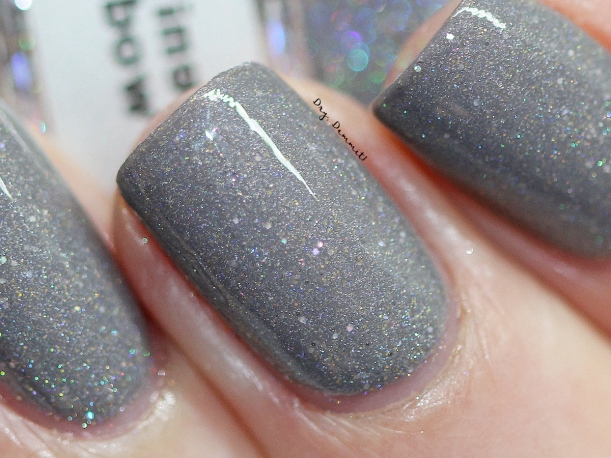 Glittering Elements Rainbow Craters swatched by Dry, Dammit!