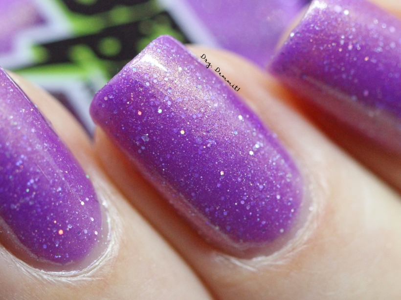 Bettie Pain Polish Amethyst swatched by Dry, Dammit!