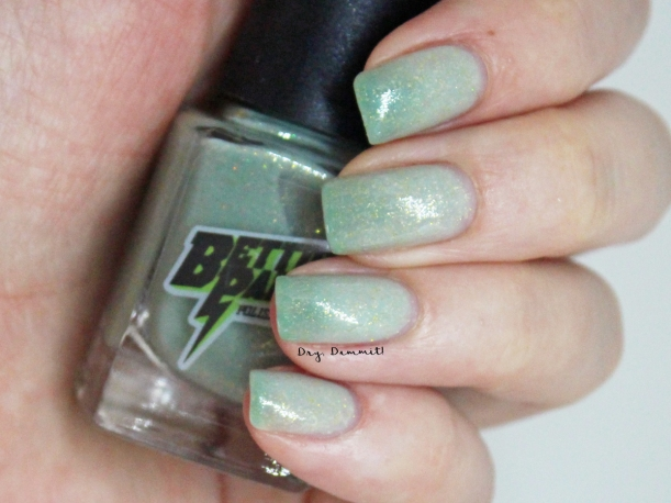 Bettie Pain Polish Ghost swatched by Dry, Dammit!