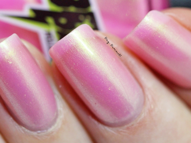 Bettie Pain Polish Padparadscha swatched by Dry, Dammit!