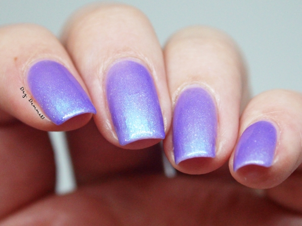 Bettie Pain Polish Peacock swatched by Dry, Dammit!