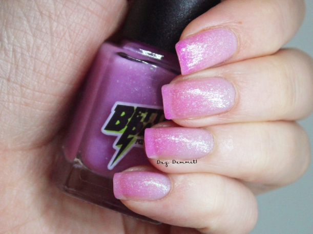Bettie Pain Polish Quartz swatched by Dry, Dammit!