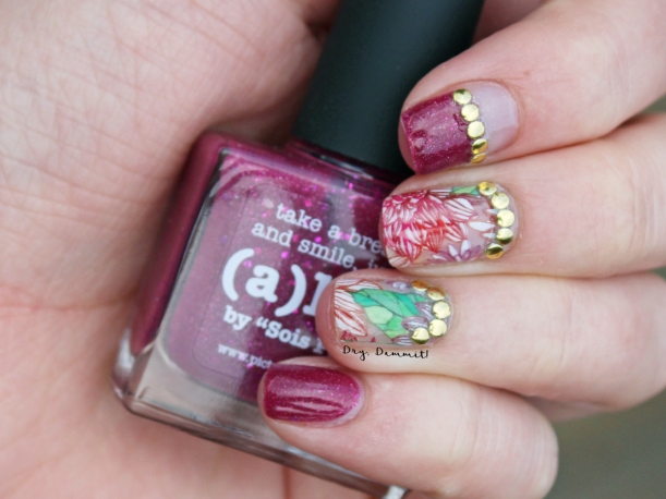 piCture pOlish Alive water decal nail art by Dry, Dammit!