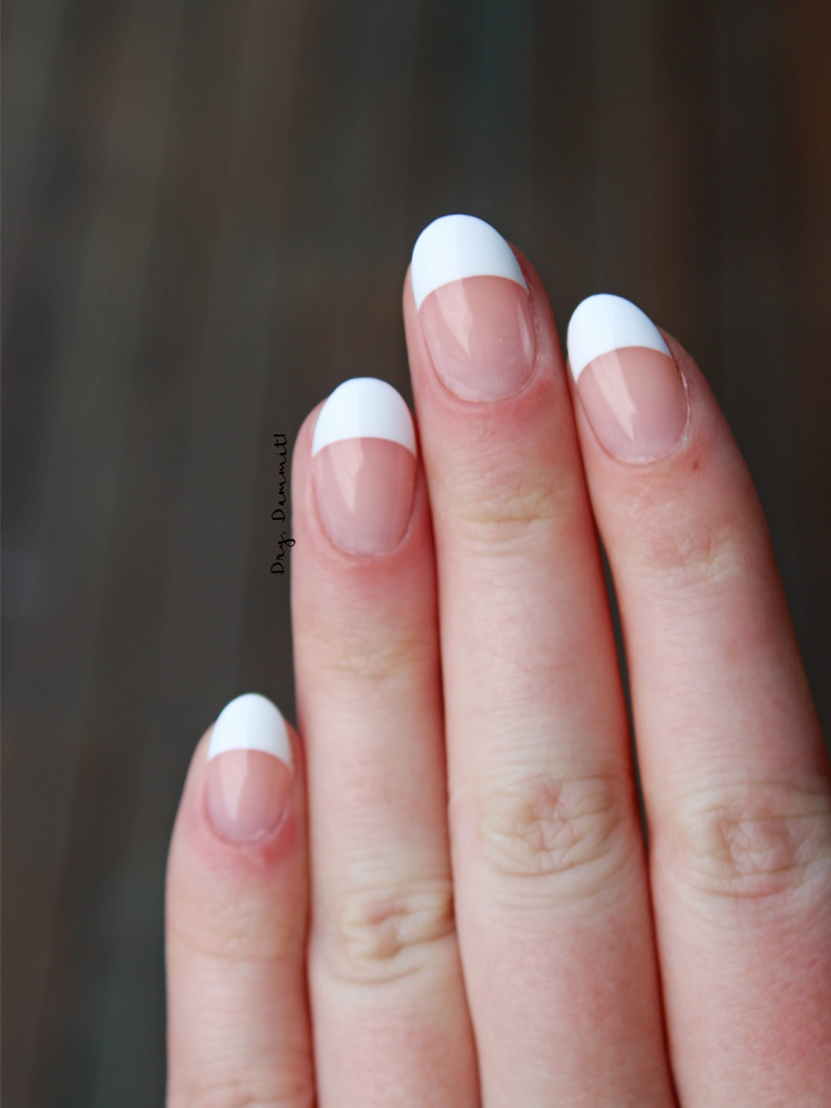 KISS Salon Acrylic French false nails | Dry, Dammit!