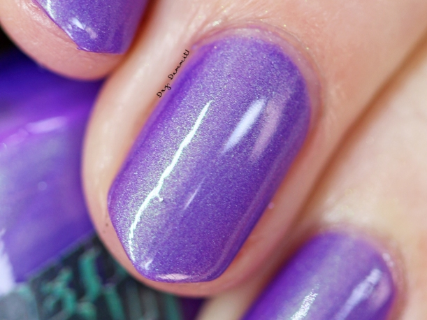 Bettie Pain Polish Backstreet's Back swatched by Dry, Dammit!