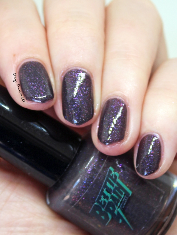Bettie Pain Polish Lost Boys swatched by Dry, Dammit!