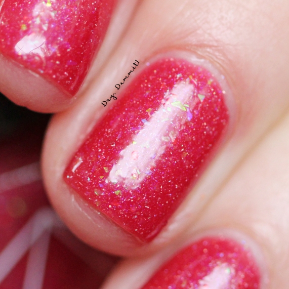 Bettie Pain Polish Eden cold swatched by Dry, Dammit!