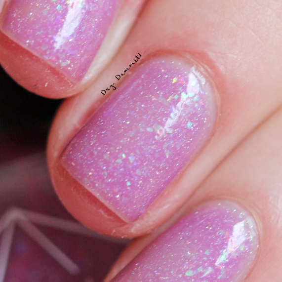 Bettie Pain Polish Eden warm swatched by Dry, Dammit!
