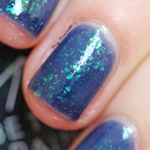 Bettie Pain Polish Enigma swatched by Dry, Dammit!