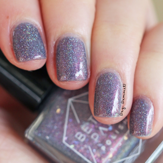 Bettie Pain Polish Jet Stream swatched by Dry, Dammit!