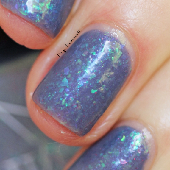 Bettie Pain Polish Trance swatched by Dry, Dammit!